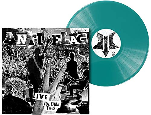 Anti-Flag - Live Volume Two Exclusive Limited Club Edition Blue Colored Vinyl LP [Vinyl]