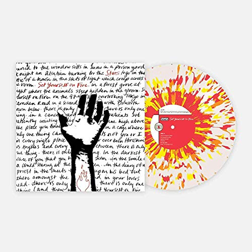 Set Yourself On Fire - Exclusive Club Edition Clear With Red And Yellow Splatter Vinyl LP (#/1000) [Condition-VG+NM] [Vinyl] Stars and Various Artists