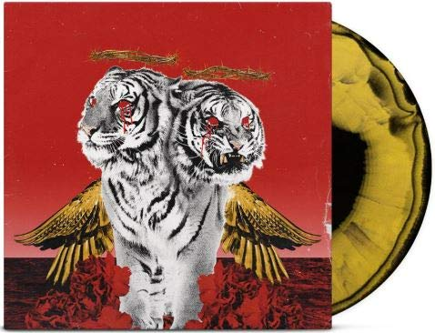 Polyphia - New Levels New Devils Exclusive Limited Edition Black & Yellow Mixed Colored Vinyl LP