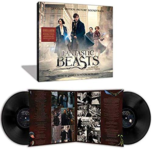 Fantastic Beasts and Where to Find Them OST Exclusive 2X Black Vinyl [ VG+/NM]