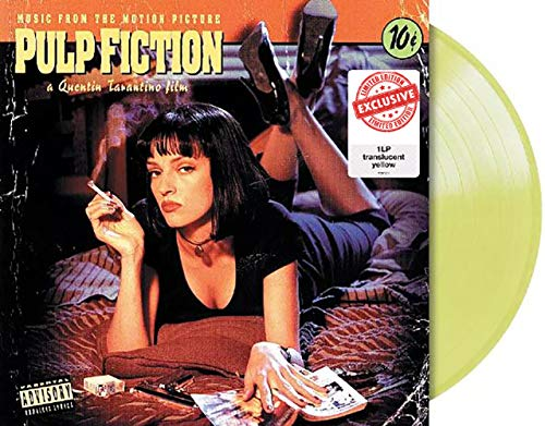 Pulp Fiction: Music From The Motion Picture - Exclusive Limited Edition Yellow Colored Vinyl LP [Vinyl] Various Artists