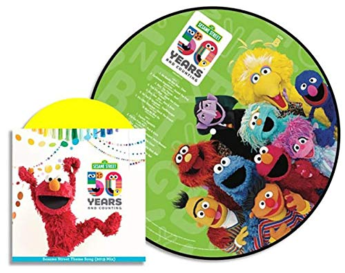 Sesame Street - 50 Years And Counting! Exclusive Picture Disc Vinyl LP With Bonus 7