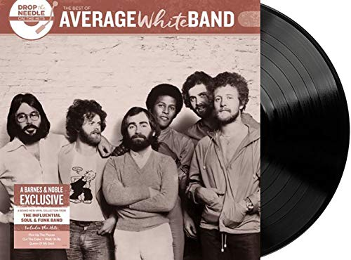 Average White Band - Drop the Needle on the Hits Exclusive Limited Edition Black Colored Vinyl LP