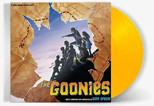 Dave Grusin - The Goonies Original Movie Score Exclusive Limited Edition Canary Yellow Vinyl [Condition-VG+NM]