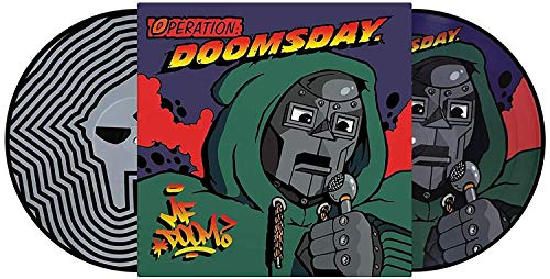 Operation: Doomsday - Exclusive Limited Edition Numbered Picture Disc 2x Vinyl LP #/2000 [Condition-VG+NM-] [Vinyl] MF Doom and Various Artists