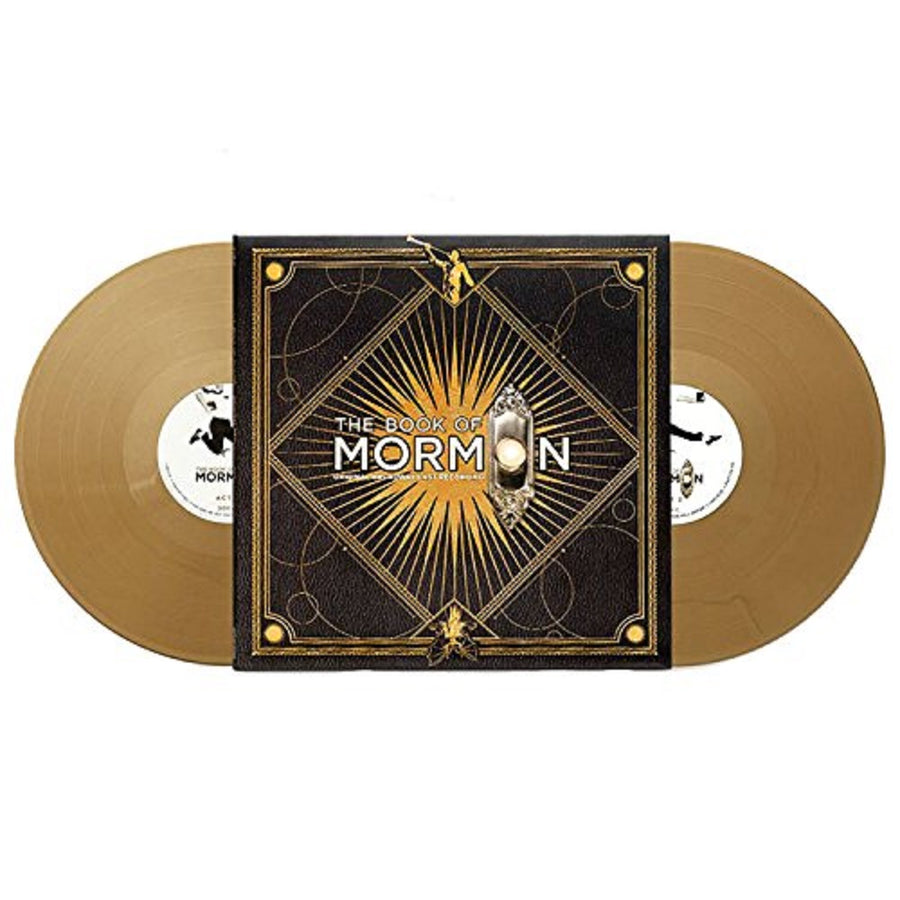 The Book Of Mormon Original Broadway Cast Recording Exclusive Gold Color Vinyl Record
