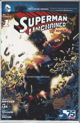 Superman Unchained #1 Comic Book WCBH We can Be Heroes Variant Limited to 485  [VF-]