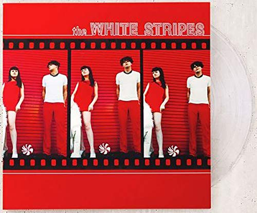 The White Stripes - The White Stripes Exclusive Limited Edition Clear Colored Vinyl LP #2000