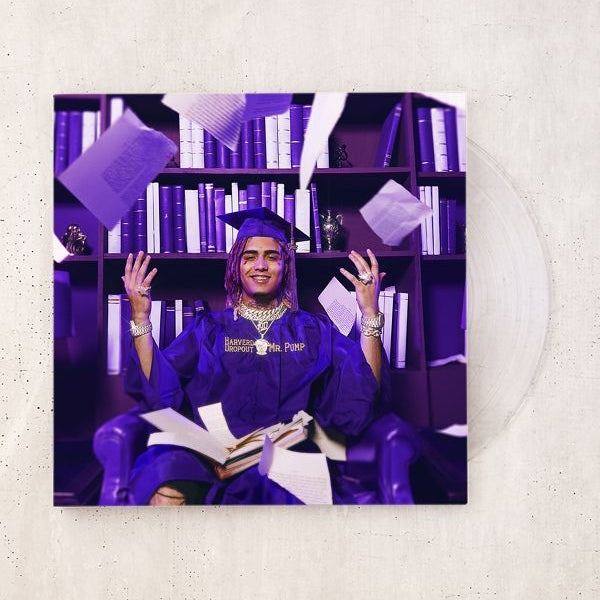 Lil Pump - Harverd Dropout Limited Clear Vinyl Ltd #3000