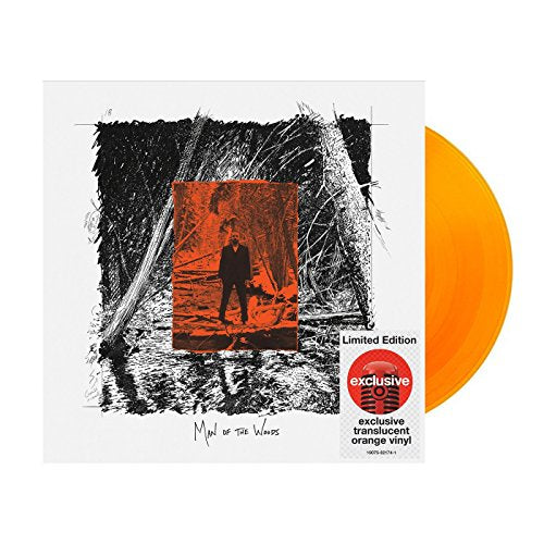 Justin Timberlake - Man of The Woods Limited Edition Exclusive Transculate Orange Vinyl