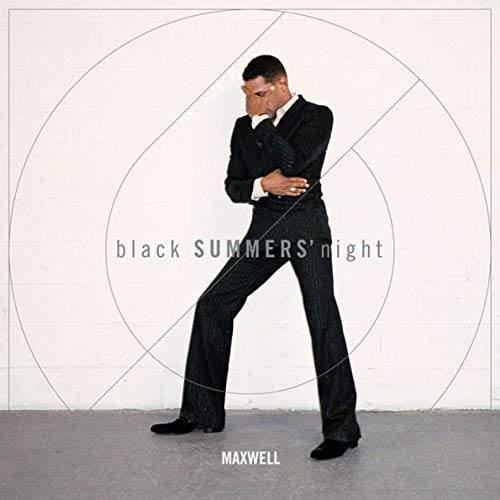 Maxwell - Black SUMMERS night Exclusive Autographed Photo Vinyl 2LP