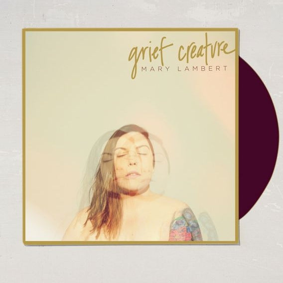 Mary Lambert - Grief Creature Limited 2XLP Exclusive Maroon Colored Vinyl VG+NM