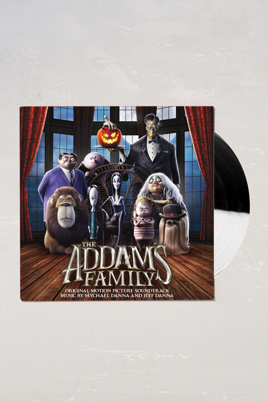 The Addams Family (Original Movie Soundtrack) Limited LP Exclusive Black and White Vinyl