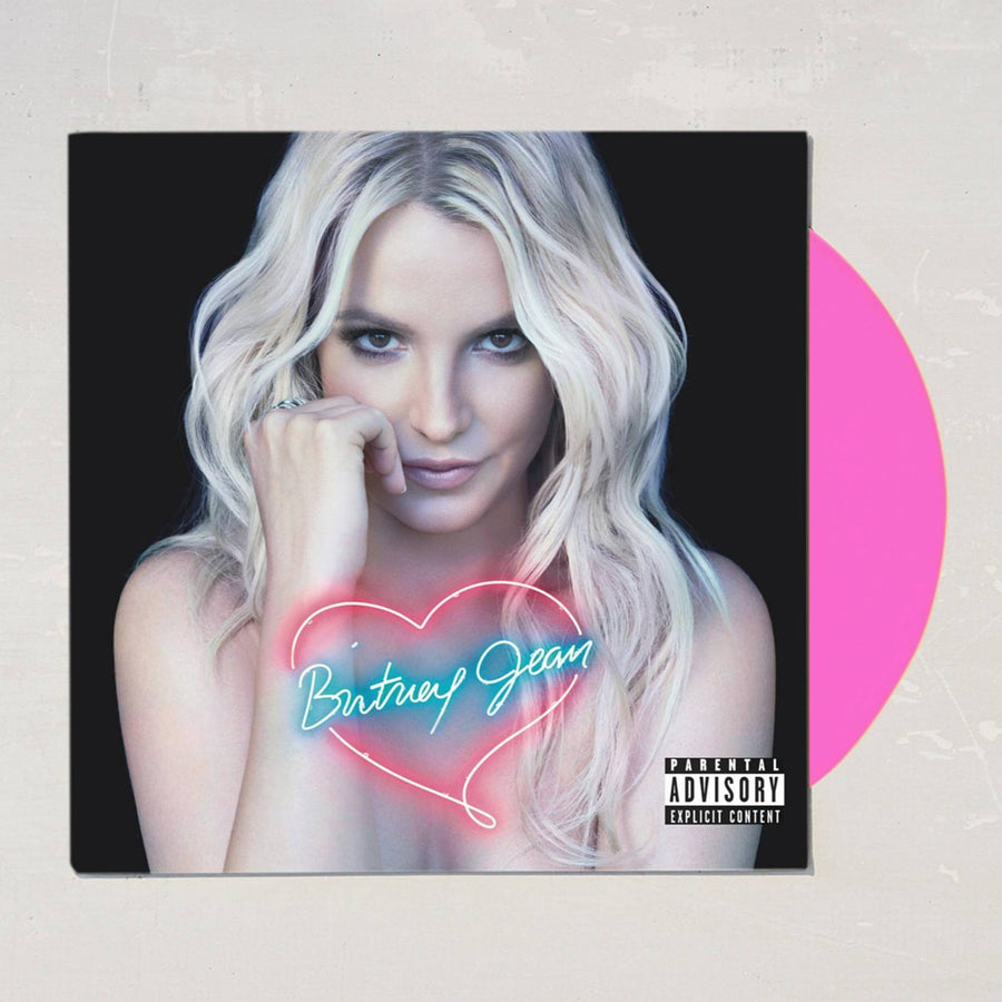Britney Spears - Britney Jean Exclusive Hot Pink Limited Edition Vinyl