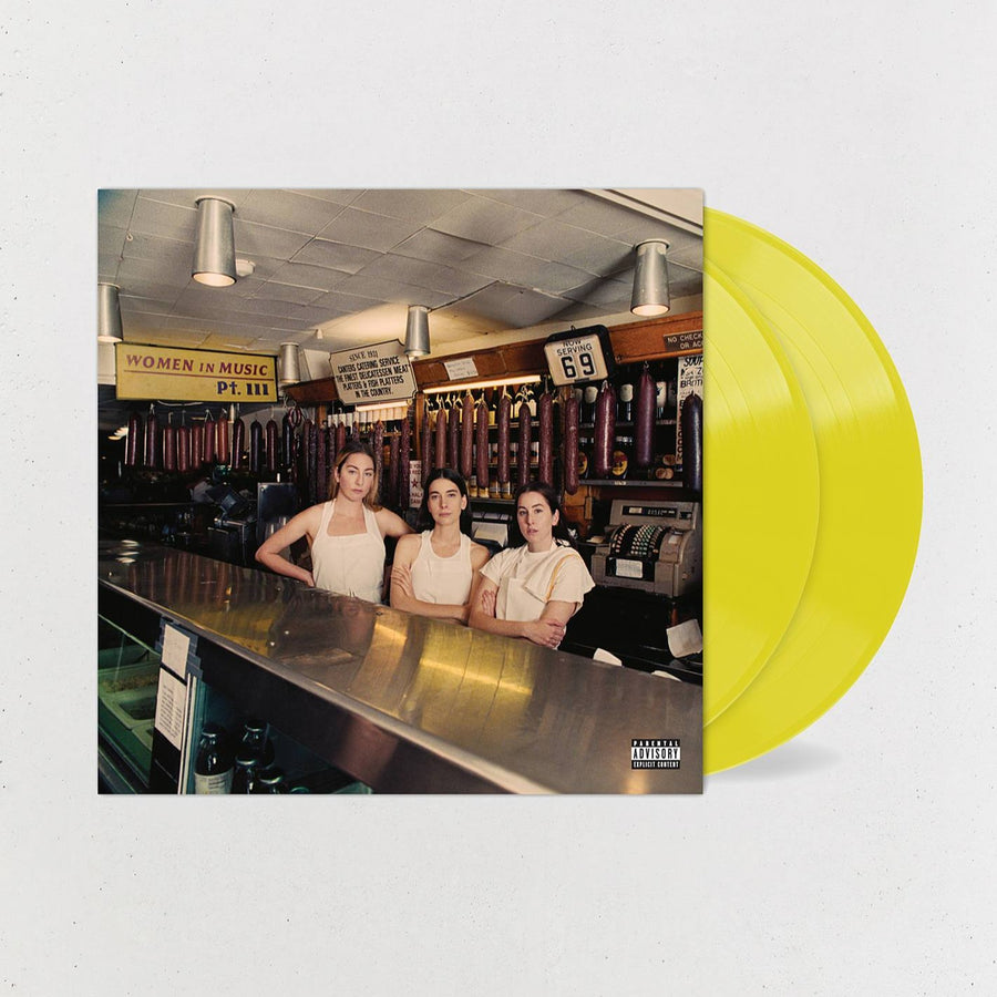 HAIM - Women In Music Pt. III Limited 2XLP Exclusive Translucent Yellow Vinyl