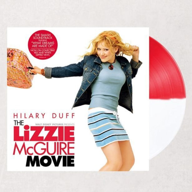 Various Artists - The Lizzie McGuire Movie Soundtrack Exclusive Red/White Split vinyl Limited 2XLP