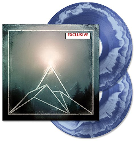 THE USED-THE CANYON EXCLUSIVE TRANSPARENT BLUE WITH LIGHT BLUE SWIRL vinyl [vinyl] THE USED