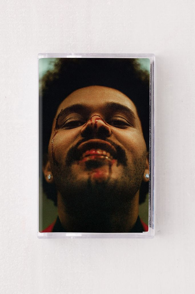 The Weeknd - After Hours Limited Edition Red Color Cassette Tape