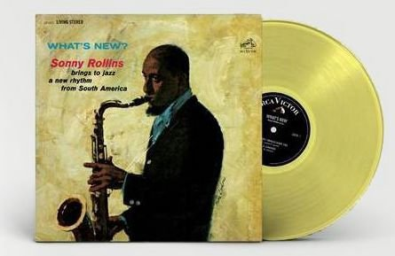 Sonny Rollins - What's New? Exclusive Clear Yellow Vinyl [Condition VG+NM]