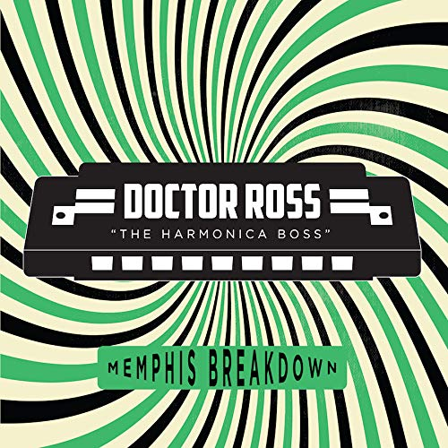 Doctor Ross - Memphis Breakdown Transparent Green Vinyl Exclusive Vinyl LP