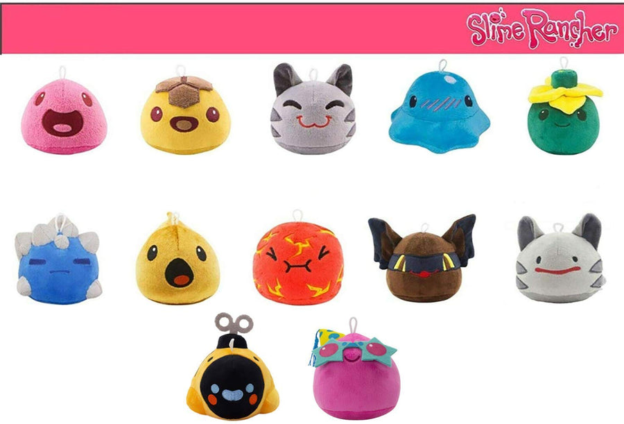 Slime Rancher- Plush Limited Edition Collectors Bundle Pack (12 Slimes Included)
