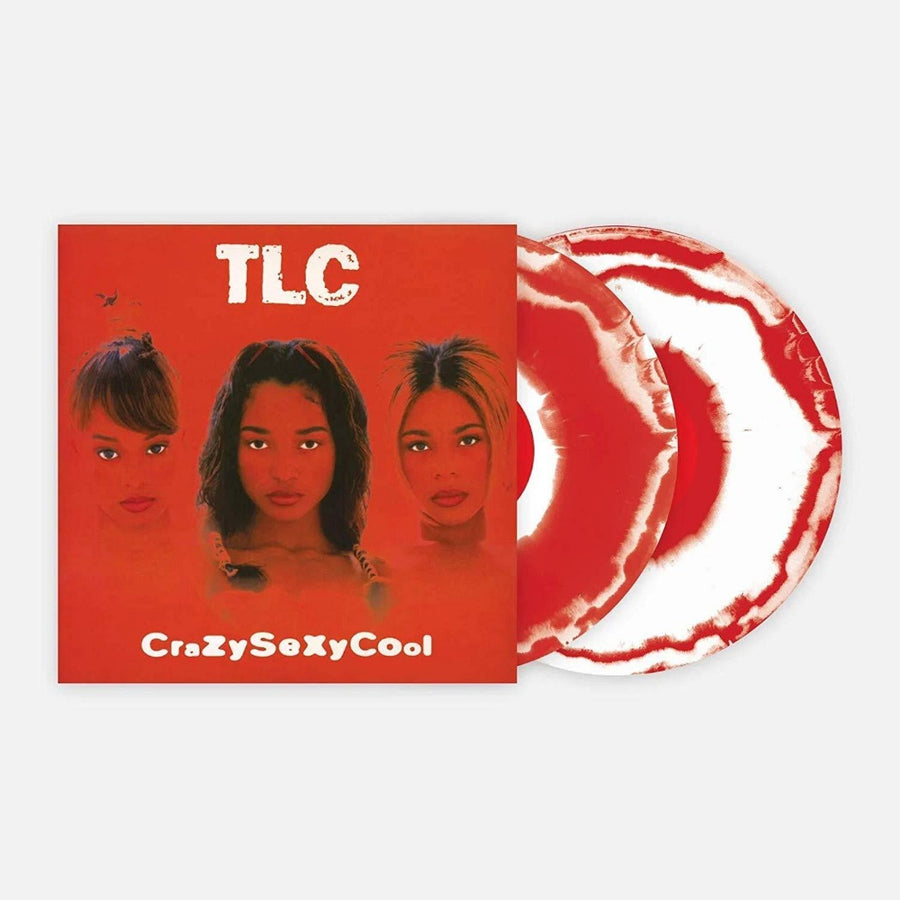 CrazySexyCool - Exclusive Limited Edition Red & White Colored 2x Vinyl LP #/1000 TLC, Various Artist
