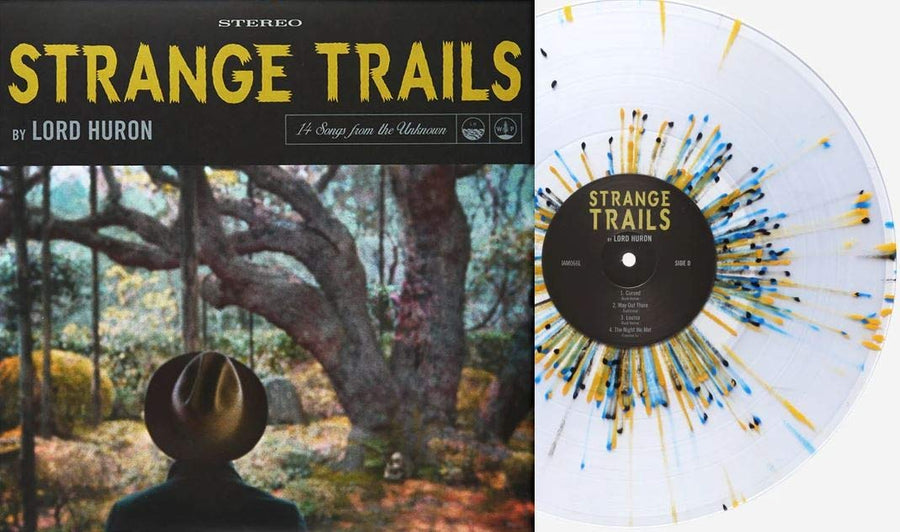 Lord Huron - Strange Trails Exclusive Limited Edition Clear With Multi Color Splatter 2xLP Vinyl