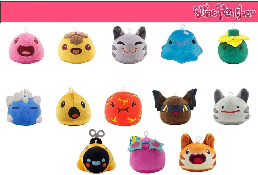 Slime Rancher- Plush Limited Edition Collectors Bundle Pack (13 Slimes Included)