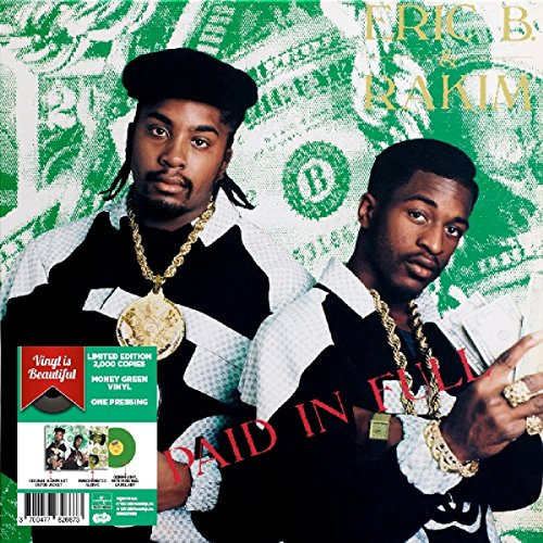 ERIC B & RAKIM - Paid In Full Colored Vinyl, Import