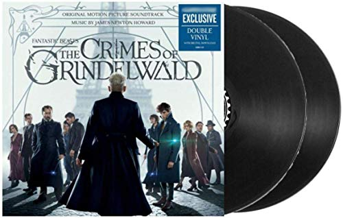 Fantastic Beasts: The Crimes of Grindelwald - Original Motion Picture Soundtrack (Exclusive Limited Edition 2XLP Vinyl)