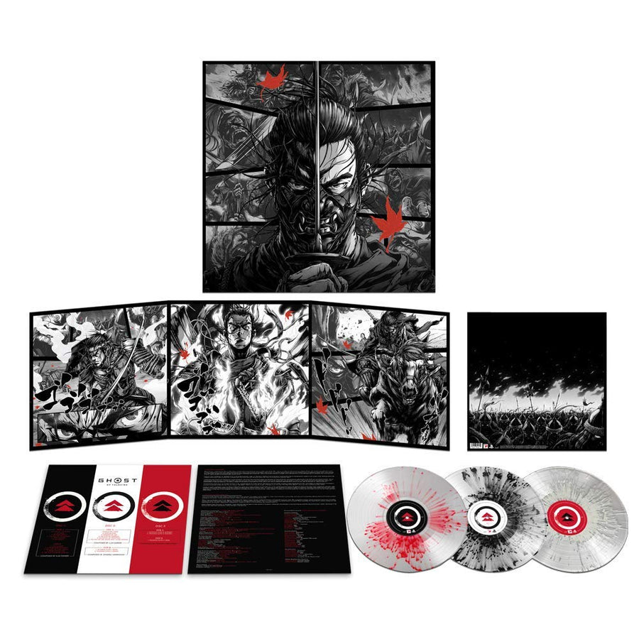 Ghost of Tsushima (Music from the Video Game) - Exclusive Limited Edition Splatter Colored 3x Vinyl