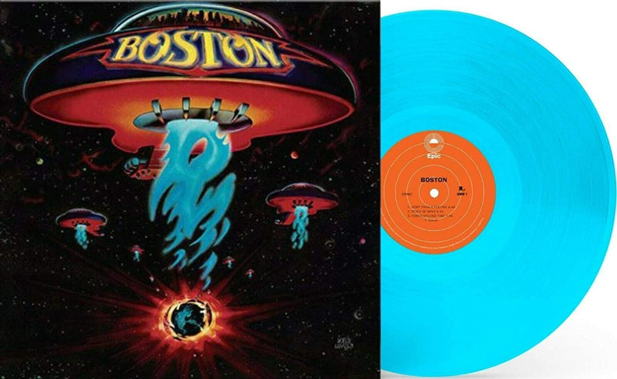 Boston - Exclusive Limited Edition Flame Blue Colored Vinyl LP Record