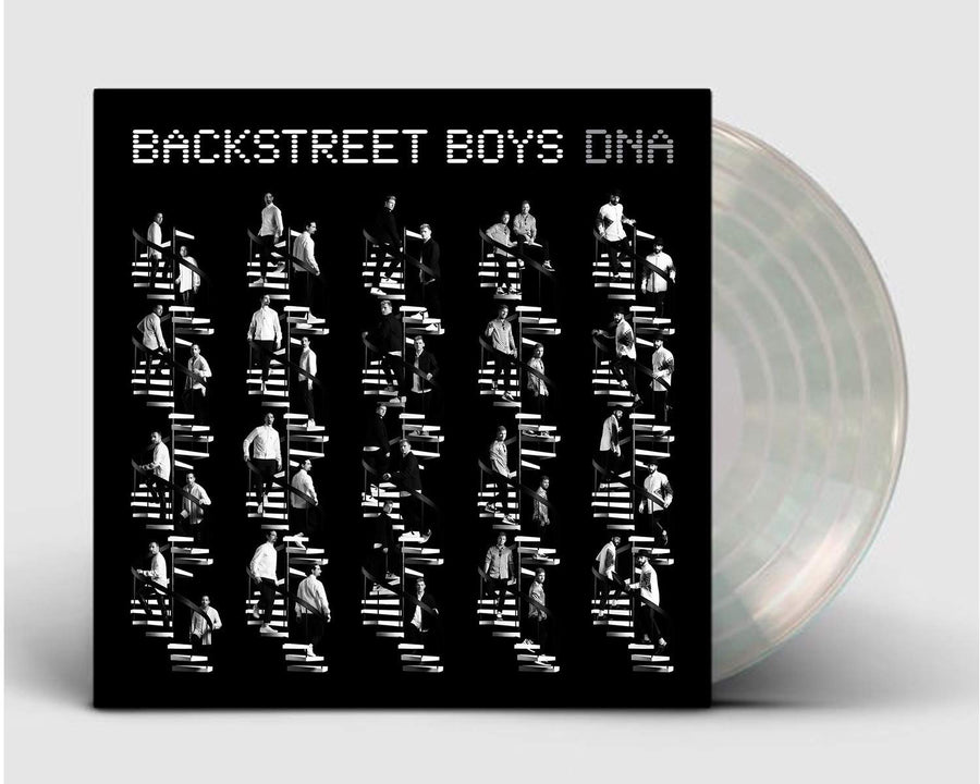 DNA - Backstreet Boys Exclusive Limited Edition Crystal Clear Vinyl LP