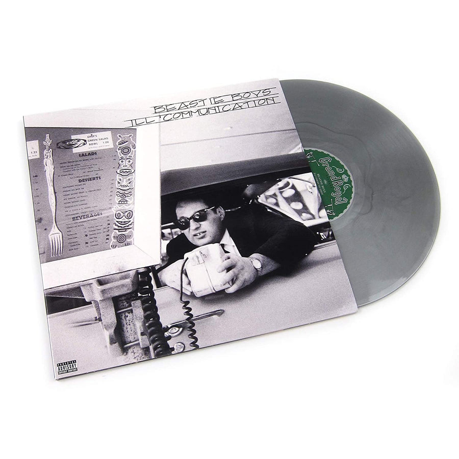 Beastie Boys - Beastie Boys: Ill Communication Indie Exclusive Silver Marbled Vinyl 2x LP Record