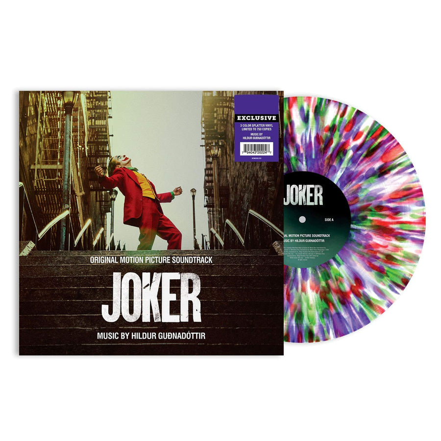 Joker Original Movie Soundtrack Exclusive Splatter Vinyl LP VG+