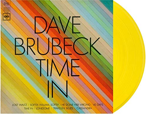 Dave Brubeck ‎- Time In Transparent Yellow Color Exclusive Vinyl LP