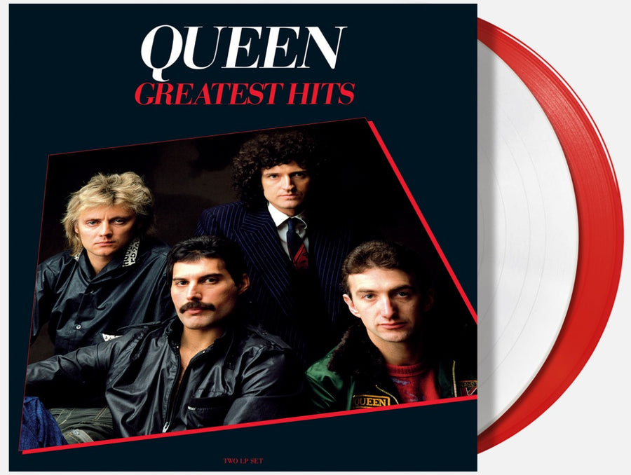 Queen - Greatest Hits, Vol. 1 Exclusive Red and White Vinyl Album 2xLP Record