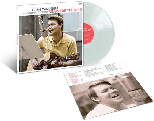 Glen Campbell ‎– Sings For The King Exclusive Crystal Clear Vinyl