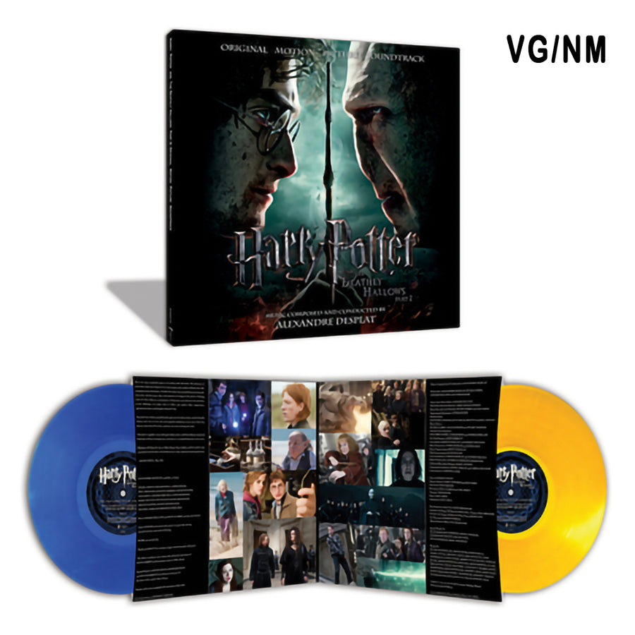 Alexander Desplat - Harry Potter & the Deathly Hallows Part 2 Exclusively blue and yellow vinyl