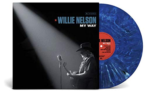 Willie Nelson ‎– My Way Album Exclusive Limited Edition Blue Marble Vinyl LP