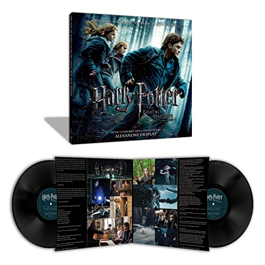 Alexandre Desplat - Harry Potter and the Deathly Hallows Part 1 2LP vinyl