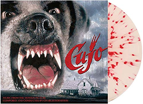 Cujo: Music From The Motion Picture Exclusive Bone White With Blood Splatter Vinyl [Condition-VG+NM]