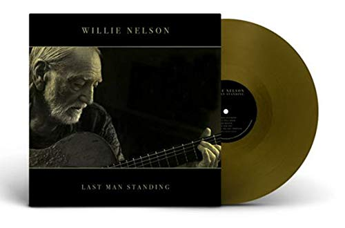 Willie Nelson - Last Man Standing EXclusive Gold Vinyl Album Limited Edition LP Record