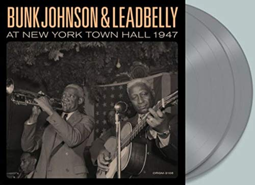 Lead Belly - New York Town Hall 1947 Exclusive Limited Edition Silver 2XLP Vinyl [Condition VG+NM]
