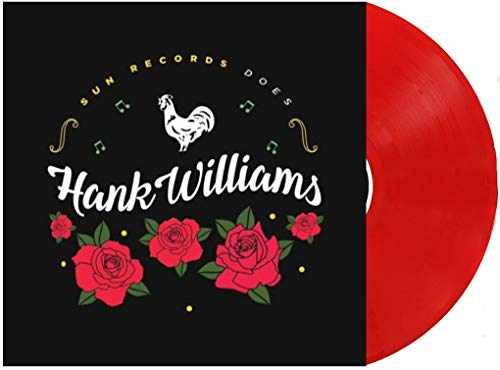 Sun Records Does Hank Williams Exclusive Limited Red Vinyl
