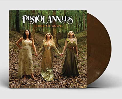 Pistol Annies - Interstate Gospel Exclusive Hardwood Brown Marbled LP Vinyl