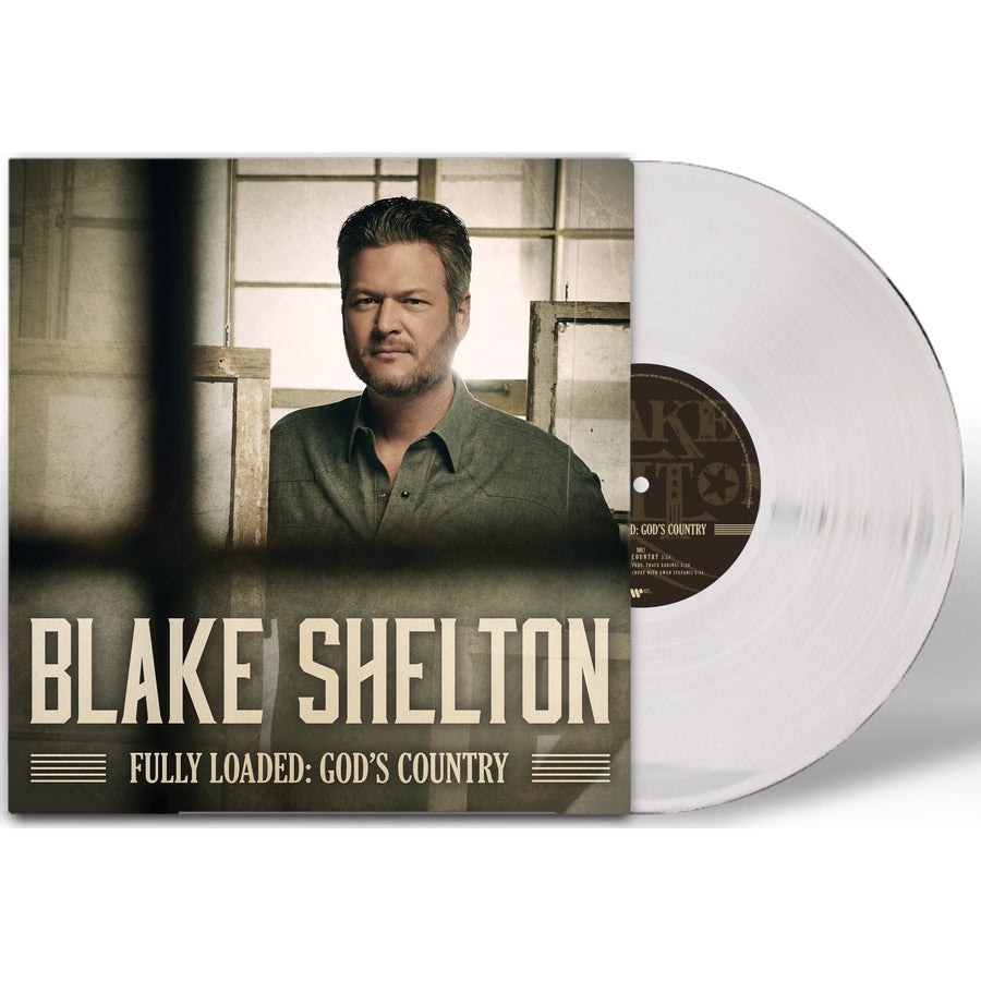 Blake Shelton - Fully Loaded Exclusive Clear Color Vinyl Album LP_RecordMusic,holiday,Xmas,Song,Record