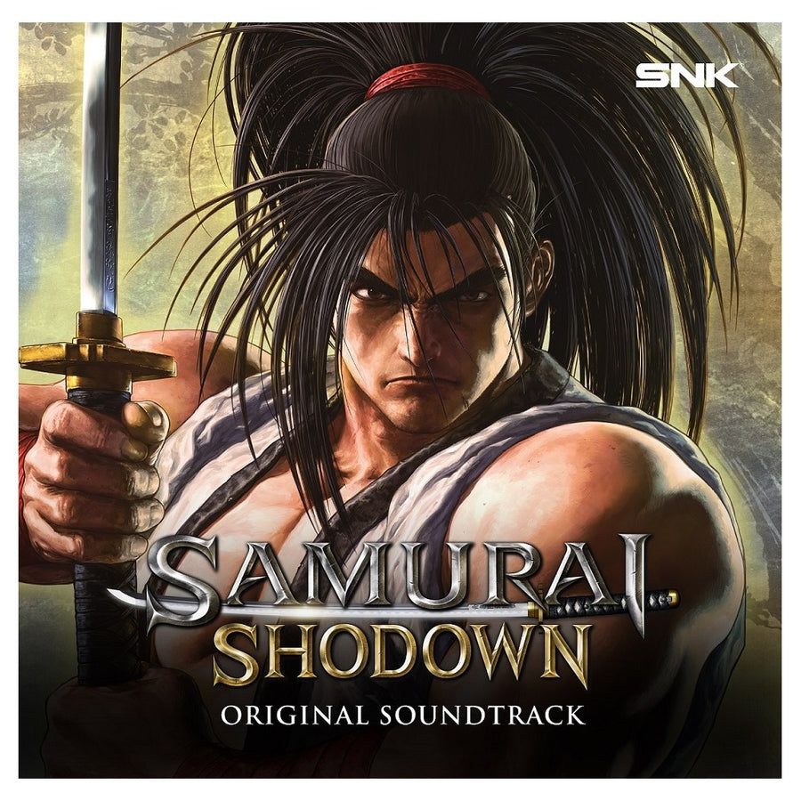 Samurai Shodown Original Soundtrack Limited 2LP Red Marble Vinyl Edition! VG+