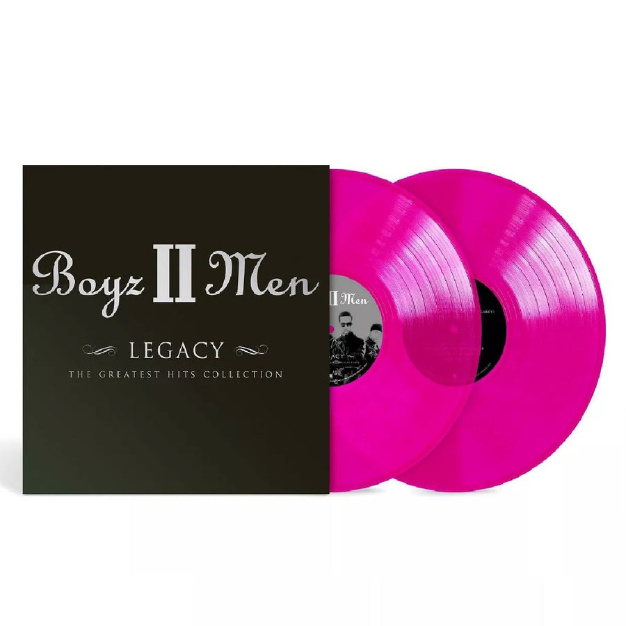 Boyz II Men - Legacy (Greatest Hits Collection) Exclusive Limited Edition Purple 2x Vinyl LP