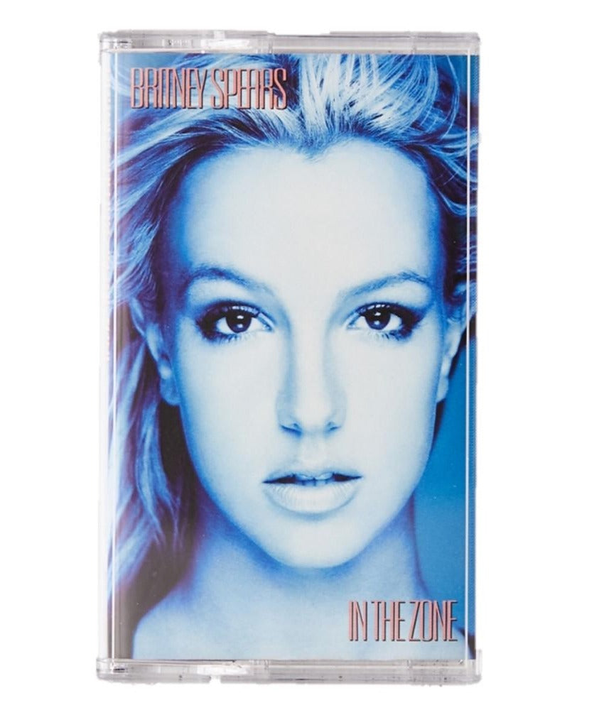 Britney Spears - in the Zone Limited Edition Exclusive Opaque Baby Blue Cassette Tape